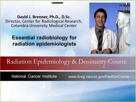 Essential Radiobiology for Radiation Epidemiologists - Dr