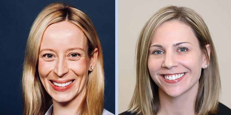 Erikka Loftfield and Megan Clarke are new DCEG Stadtman Investigators